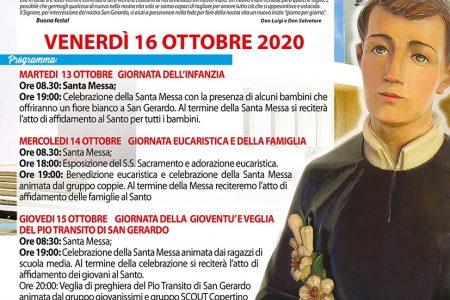 Festa di San Gerardo 2020